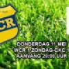 Donderdag 11 Mei WCR 1 zondag-CKC 1