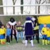 Pupillenvoetbal en bezoek van de Sint